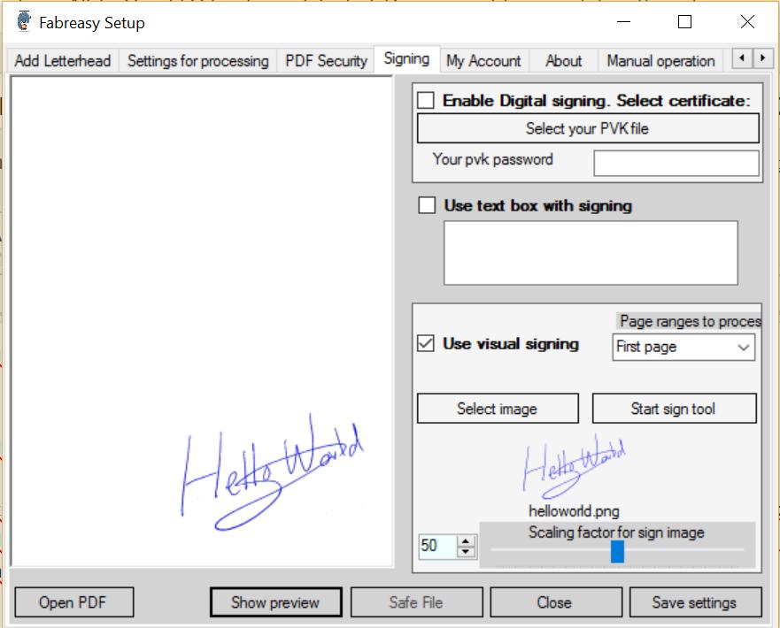 Hantekening toevoegen aan PDF