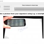 Digitale handtekening maken